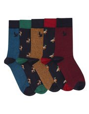 Animal themed socks five pack