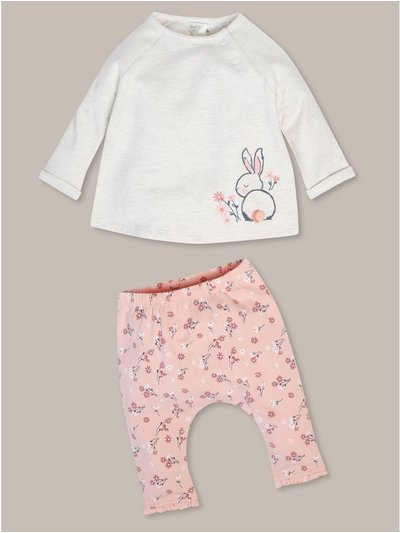 Bunny top and legging set (newborn-18mths)