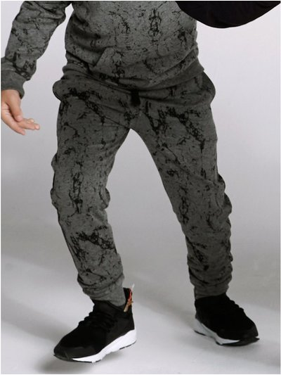 Marble print joggers (3-12yrs)