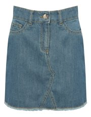 Teens' denim skirt