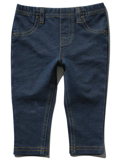 Denim look leggings (0mths-3yrs)