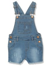 Minoti denim dungarees (9 mths - 8 yrs)
