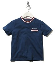 Ben Sherman stripe trim t-shirt