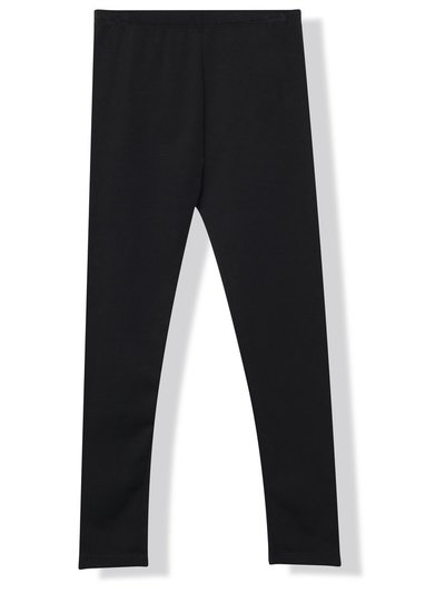 Plain black leggings (3 - 10 yrs)
