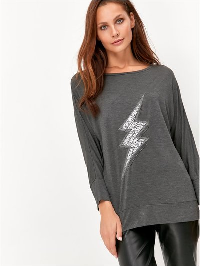Sonder Studio lightning bolt top