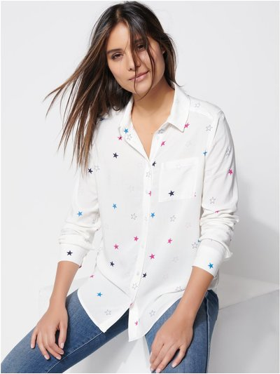 Khost clothing star print shirt