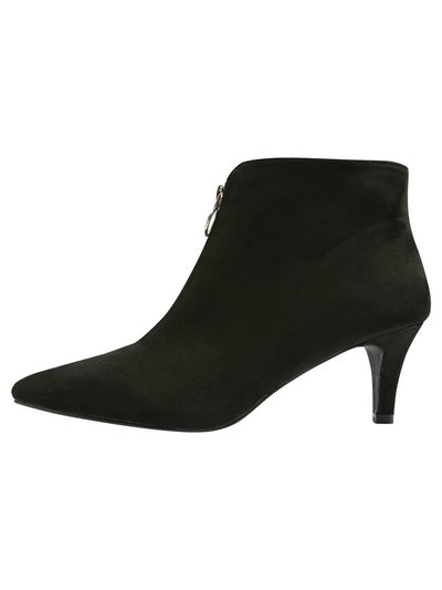 Axel front zip detail ankle boot
