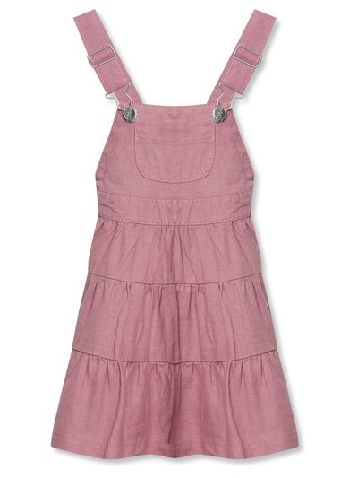 Tiered pinafore dress (3-12yrs)