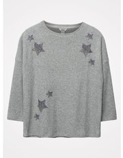Khost Clothing glitter star jumper