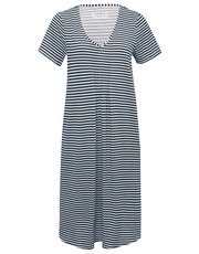Stripe print nightdress