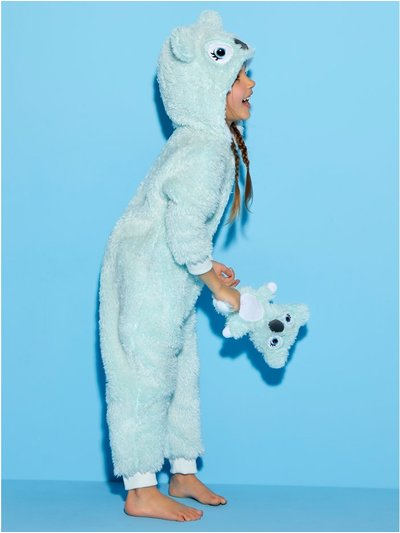 Fleece koala onesie with toy (1-8yrs)