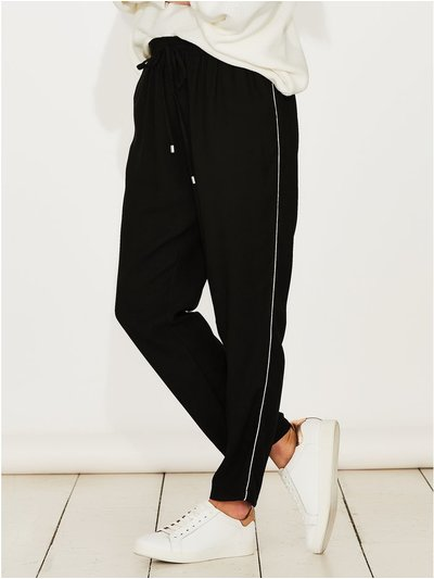 Sonder Studio stripe side jogger trousers