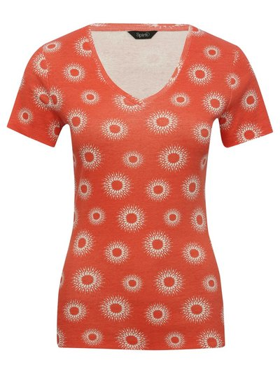 Spirit sunburst print top