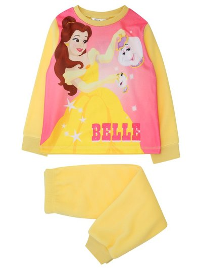 Fleece Disney princess Belle pyjamas (2-8yrs)