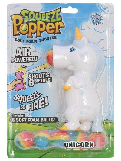 Unicorn squeeze popper