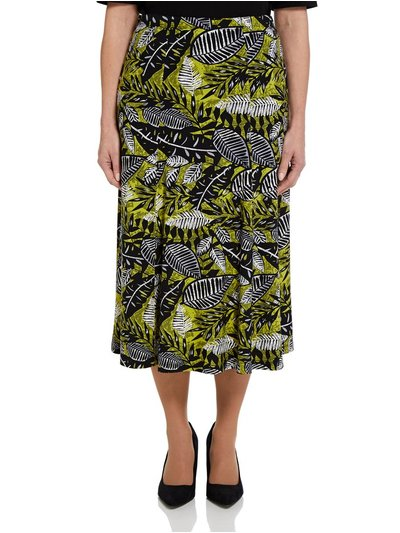TIGI tropical print skirt
