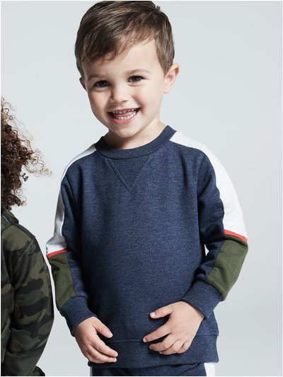 Colour block sweatshirt (9mths-5yrs)
