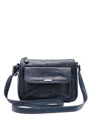 Front pocket shoulder bag