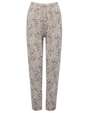 Floral print lounge trousers
