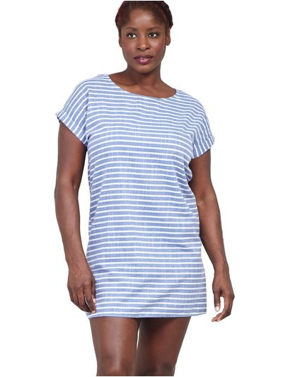 Izabel Curve striped t-shirt dress