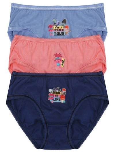 Trolls briefs three pack (2-10yrs)