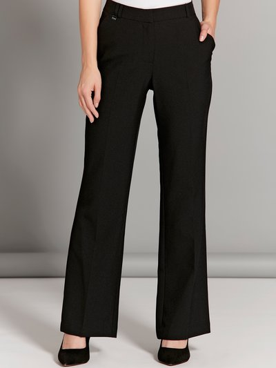 Petite stretch bootcut trousers