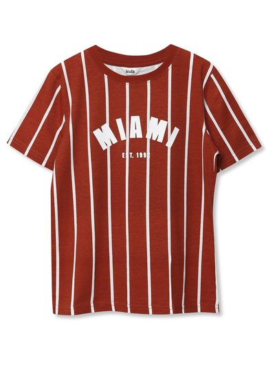 Miami stripe t-shirt (3yrs-12yrs)
