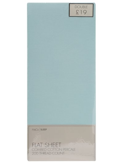Cotton flat sheet