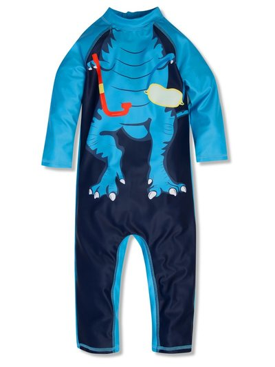 Dinosaur sunsafe swimsuit (9mths-5yrs)