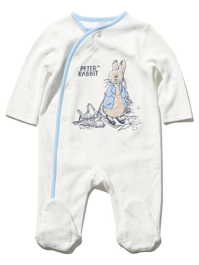 Peter Rabbit sleepsuit (Newborn - 18 mths)