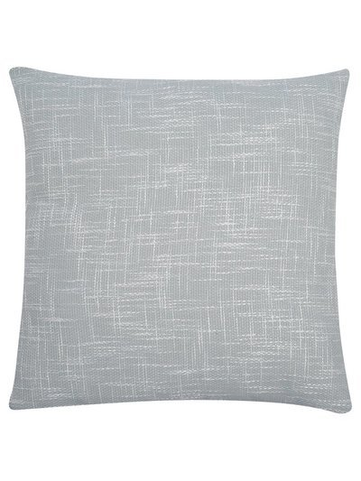 Blue woven cushion