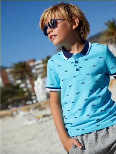 Shark polo shirt