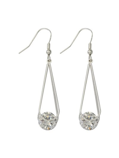 Muse diamante drop earrings