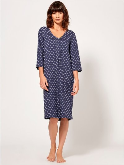 Heart print nightdress