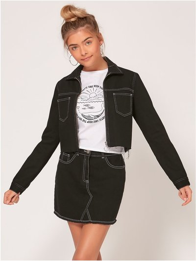 Teen denim jacket