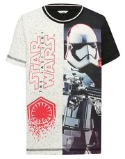 Star Wars print t-shirt