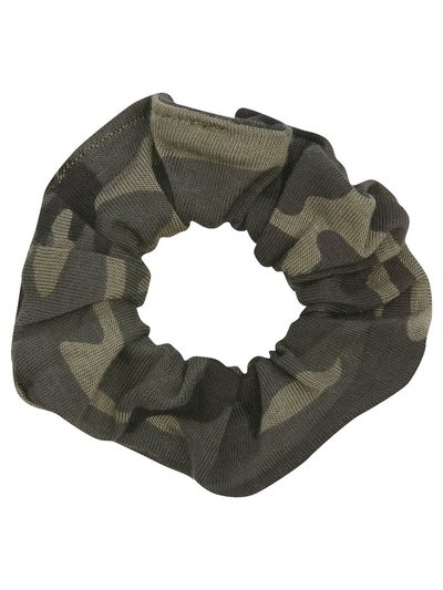 Teen camo scrunchie