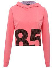 Cropped 85 hooded sweater