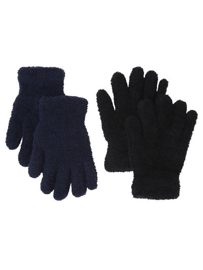 Fleece gloves two pack