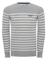 Brakeburn stripe crew neck jumper