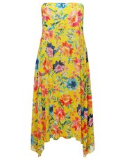 Sunshine floral two in one beach dress