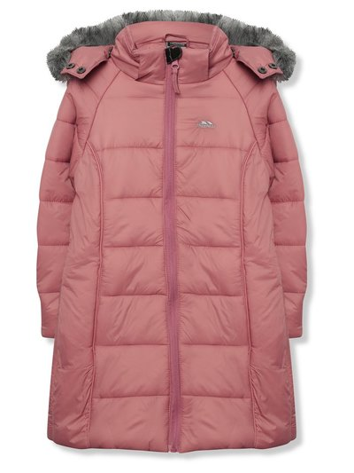 Trespass longline quilted coat (3 - 12 yrs)