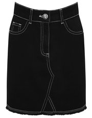 Teen denim skirt