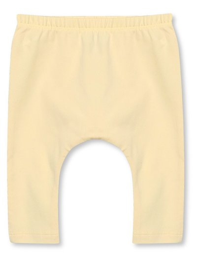 Plain yellow leggings (Tiny baby - 18 mths)