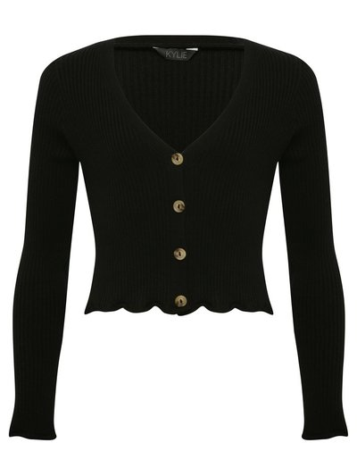 Teen cropped cardigan