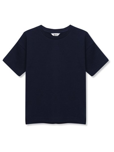 Popcorn textured t-shirt (3-12yrs)