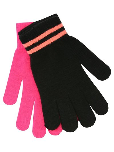 Teen neon gloves two pack