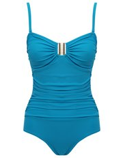 Plain tummy control multiway swimsuit