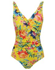 Sunshine floral tummy control swimsuit