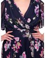 Scarlett and Jo plus floral midi marilyn dress